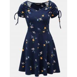 Detail · Modré vzorované šaty Dorothy Perkins 49c14924118
