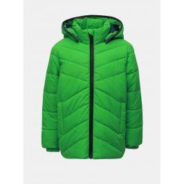 6970a65ee Detail · Zelená chlapčenská zimná prešívaná bunda Name it Mil