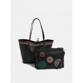 Detail · Čierny obojstranný shopper s puzdrom Desigual Siara 81a468ca2ad