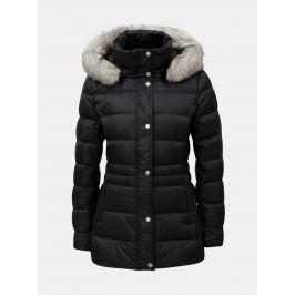 4118c7c6999c Detail · Čierna dámska páperová prešívaná zimná bunda Tommy Hilfiger