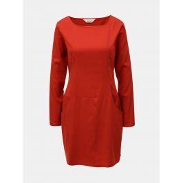 dd9807a2fd Detail · Červené šaty s vreckami SKFK Magde