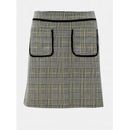 d0f07a87090e Detail · Sivá károvaná sukňa Dorothy Perkins