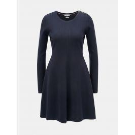 Detail · Tmavomodré svetrové šaty Tommy Hilfiger Varinka 374466ec0fa