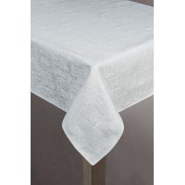 Obrus 140X180 cm Blink (biela + strieborná)