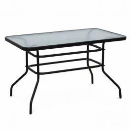 Záhradný stôl Demat (čierna)