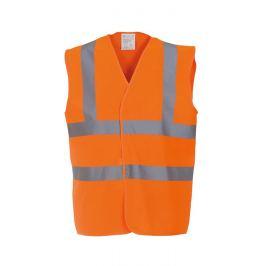 Dětská výstražná vesta - Neonová oranžová S