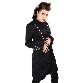 kabát dámsky Aderlass - Ladys Corsair Coat Brocade Black - A-7-63-540-00