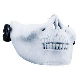 maska POIZEN INDUSTRIES - Skull Mask - White