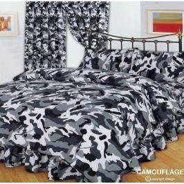 obliečky CAMOUFLAGE BLACK - ALG001