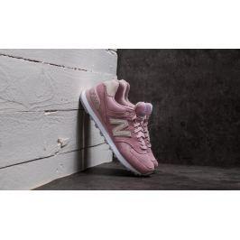 New Balance 574 Pink/ Grey/ White