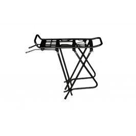 Nosič na bicykel Al Kaiwei s klapákom čierny