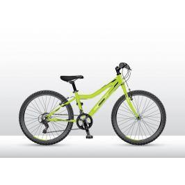 Bicykel VEDORA MTB 24 Mad Speed 100 zelený neon 2018 Zelený neon 13″
