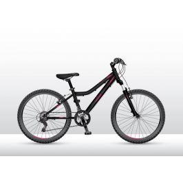 Bicykel VEDORA MTB 24 Mad Speed 200 čierno-ružový 2018 Čierno-ružová 13″