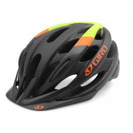 Cyklistická prilba GIRO Revel 16 Black / Orange Čierno-oranžová 58-62 cm