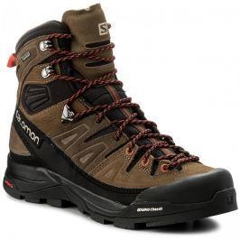 078242bff7 Detail · Pánska turistická obuv SALOMON X Alp High LTR GTX Slate Blac Teak  - 18