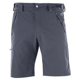 Softshellové šortky SALOMON Wayfarer Short M Graphite Sivá XL