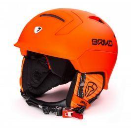 Detail · Lyžiarska prilba BRIKO MONGIBELLO Matt Fluo Orange - 17 18 Oranžová  62 ccee875fb30