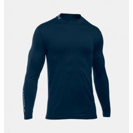 Detail · Pánske tričko Under Armour Golf ColdGear® Mock Tmavomodrá XL e30e8d3ad91