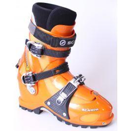BAZÁR Skialpinistické Lyžiarky SCARPA Spirit 3 Čierno-oranžová 30.0