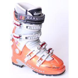 BAZÁR Skialpinistické Lyžiarky GARMONT She-Ride Sivo-oranžová 23.5