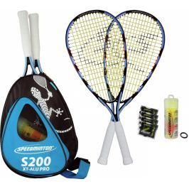 Speedmintonový set S200 XT Alu Pro Modro-čierna
