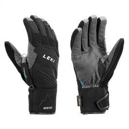 Rukavice LEKI Tour Pro V GTX - 17 18 Čierno-šedá 8 c3e02600137