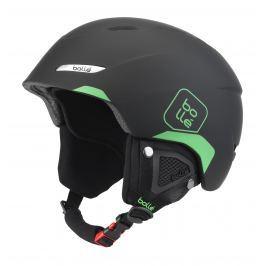 70d95d6d0 Detail · Lyžiarska prilba BOLLÉ B-Yond Soft Black & Green - 17/18 Čierno-