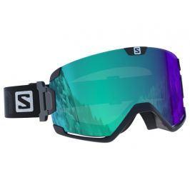 Fotochromatické lyžiarske okuliare SALOMON Cosmic Photo Blk All Weath Blue  Modrá 0c7018cfdf1