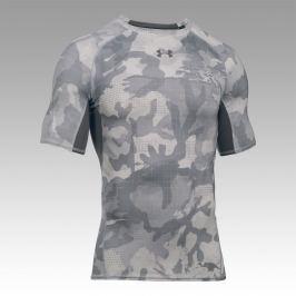 615605db04440 Detail · Kompresné tričko UNDER ARMOUR HeatGear® Armour Printed SS  Bielo-sivá MD