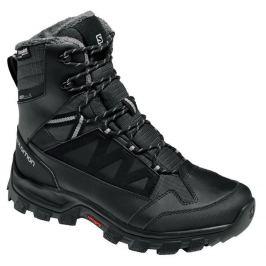 6a0597ac0e Detail · Pánska obuv SALOMON Chalten TS CSWP Black Asphalt PTR 17 18 Čierna  uk