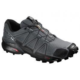 Pánska bežecká trailová obuv SALOMON Speedcross 4 Dark Cloud/Black/GY 18/19 Tmavo sivá uk 7.5