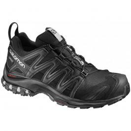 Dámska trailová bežecká obuv SALOMON XA Pro 3D GTX W Black/Black/Mineral Grey Čierna uk 7