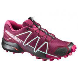 Detail zboží · Dámska trailová bežecká obuv SALOMON Speedcross 4 W Tibetan  Red Sangria Black Červená uk ee6b529034e