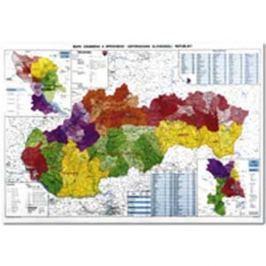 Mapa SR administratívna NM137000