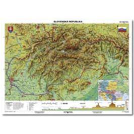 Mapa Slovensko-geografická B1 formát NM473001