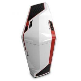 Skrinka NZXT Phantom/Full Tower/bez zdroja/USB2.0/E-ATX/biela s červenými pruhmi PHAN-003RD