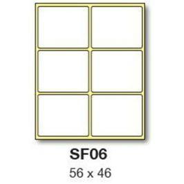 Etikety RAYFILM 56x46 biele ručne popisovateľné R0009SF06G R0009.SF06G