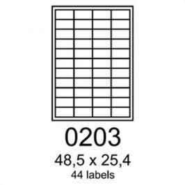 Etikety RAYFILM 48,5x25,4 univerzálne biele R01000203A R0100.0203A