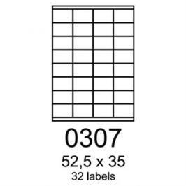 Etikety RAYFILM 52,5x35 univerzálne biele R01000307A R0100.0307A