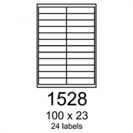 Etikety RAYFILM 100x23 univerzálne biele R01001528A (100 list./A4) R0100.1528A