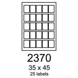 Etikety RAYFILM 35x45 univerzálne biele R01002370A R0100.2370A