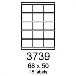 Etikety RAYFILM 68x50 univerzálne biele R01003739A R0100.3739A
