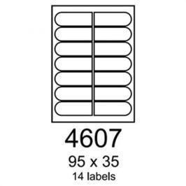 Etikety RAYFILM 95x35 univerzálne biele R01004607A R0100.4607A