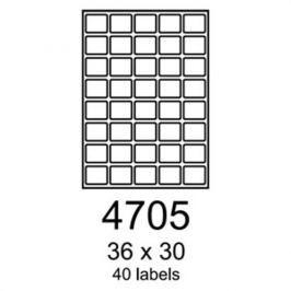 Etikety RAYFILM 36x30 univerzálne biele R01004705A R0100.4705A