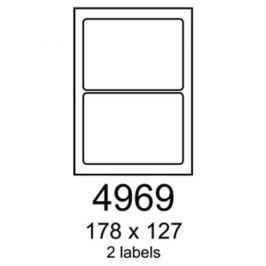 Etikety RAYFILM 178x127 univerzálne biele R01004969A R0100.4969A