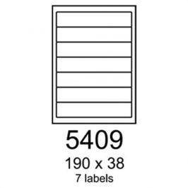 Etikety RAYFILM 190x38 univerzálne biele R01005409A R0100.5409A