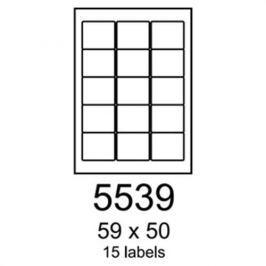 Etikety RAYFILM 59x50 univerzálne biele R01005539F R0100.5539F