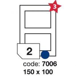 Etikety RAYFILM 150x100 univerzálne biele R01007006F (1.000 list./A4) R0100.7006F