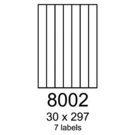 Etikety RAYFILM 30x297 univerzálne biele R01008002F R0100.8002F