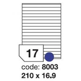Etikety RAYFILM 210x16,9 univerzálne biele R01008003F R0100.8003F